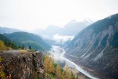Salmon Glacier, Canada Border